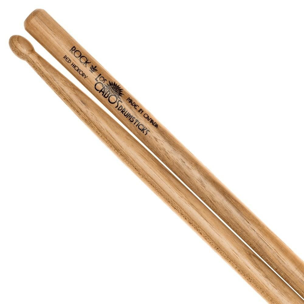 Los Cabos - Rock Red Hickory Drumsticks-Percussion-Los Cabos-Music Elements