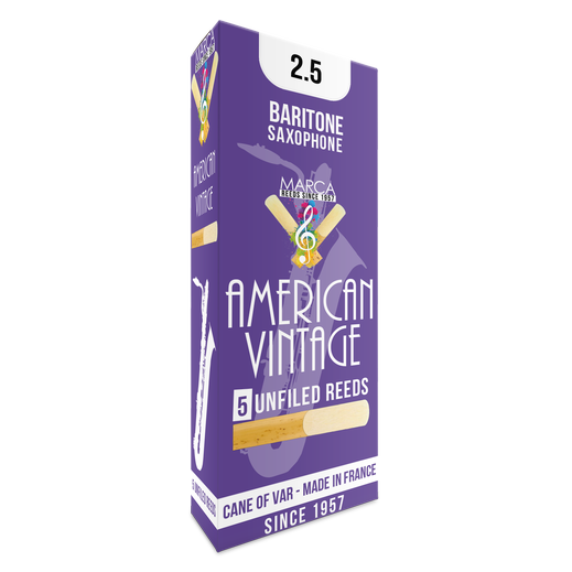 Marca - American Vintage Baritone Saxophone Reeds-Reed-Marca-Music Elements