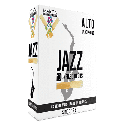 Marca - Jazz Unfiled Alto Saxophone Reeds-Reed-Marca-Music Elements