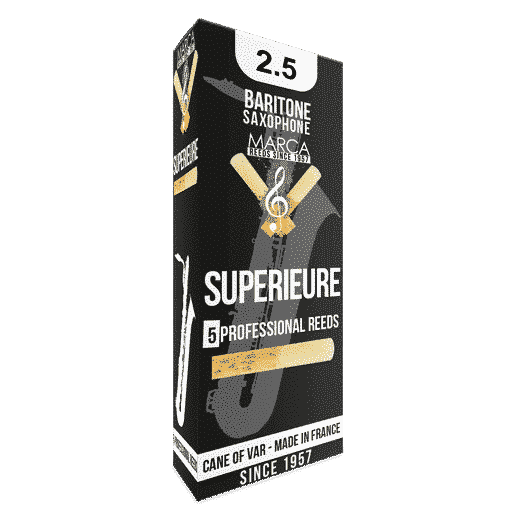 Marca - Superieure Baritone Saxophone Reeds-Reed-Marca-Music Elements