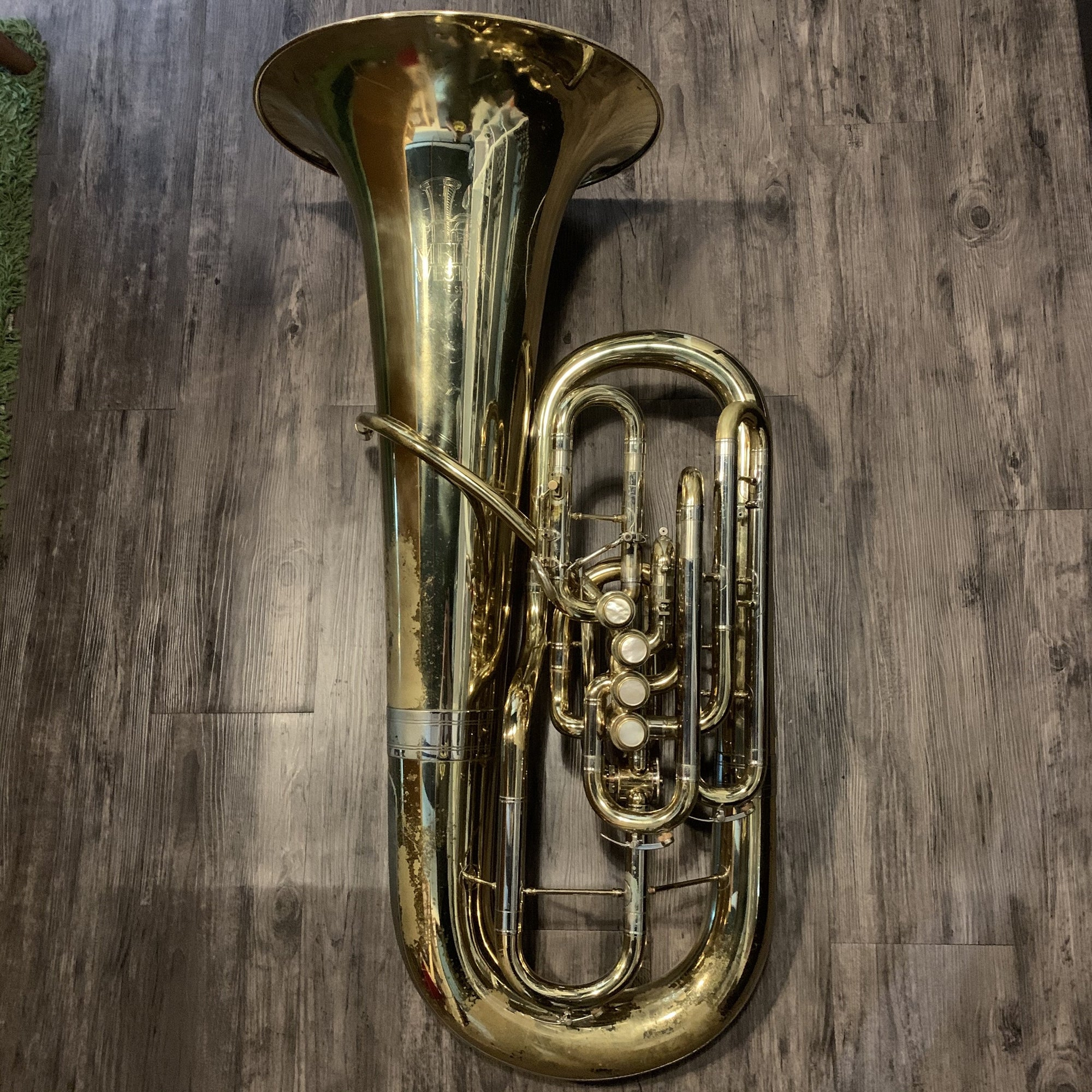 Meinl Weston - 45SLP 6/4 F Tuba (Pre-Owned)-Tuba-Meinl Weston-Music Elements