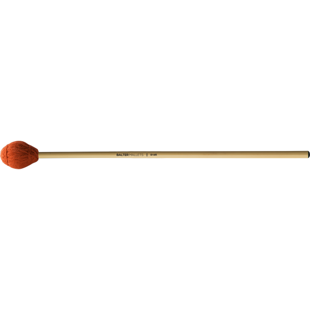 Mike Balter - Ensemble Series Marimba Mallets-Percussion-Mike Balter-B14: Red Yarn - Medium Soft-Rattan (R)-Music Elements