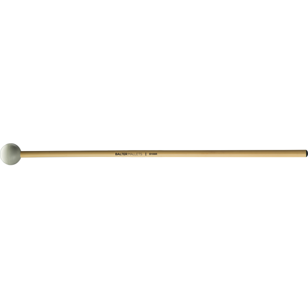 Mike Balter - Grandioso Series Mallets-Percussion-Mike Balter-B106: Grey Rubber - Hard-Rattan (R)-Music Elements