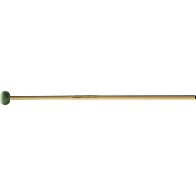 Mike Balter - Unwound Series Xylophone/Bell Mallets-Percussion-Mike Balter-B4: Light Green Rubber - Medium-Rattan (R)-Music Elements