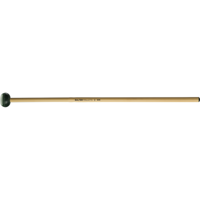 Mike Balter - Unwound Series Xylophone/Bell Mallets-Percussion-Mike Balter-B5: Dark Green Rubber - Medium Hard-Rattan (R)-Music Elements