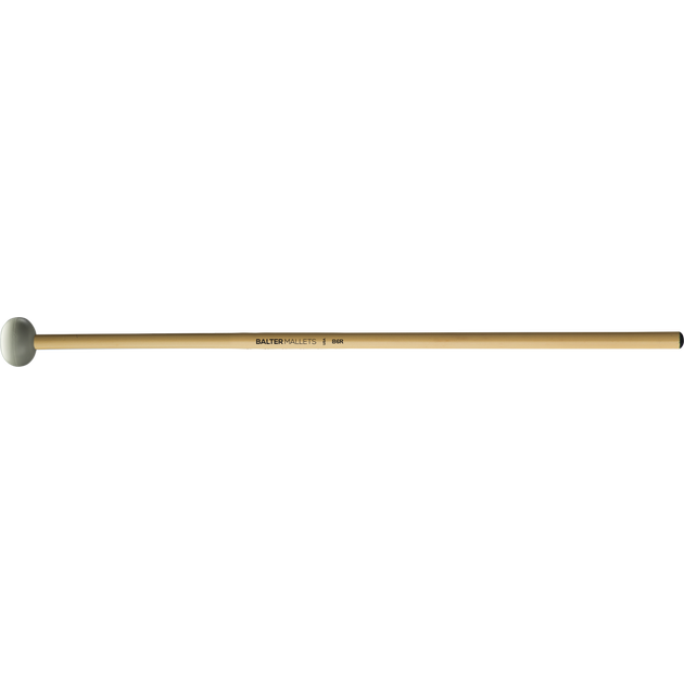 Mike Balter - Unwound Series Xylophone/Bell Mallets-Percussion-Mike Balter-B6: Grey Rubber - Hard-Rattan (R)-Music Elements