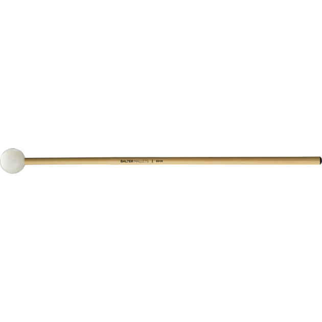 "Mike Balter - Unwound Series Xylophone/Bell Mallets-Percussion-Mike Balter-B91: 1 1/8"" Poly - Medium Hard-Rattan (R)-Music Elements"