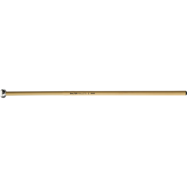"Mike Balter - Unwound Series Xylophone/Bell Mallets-Percussion-Mike Balter-B9A: 5/8"" Oval Aluminium - Hard-Rattan (R)-Music Elements"