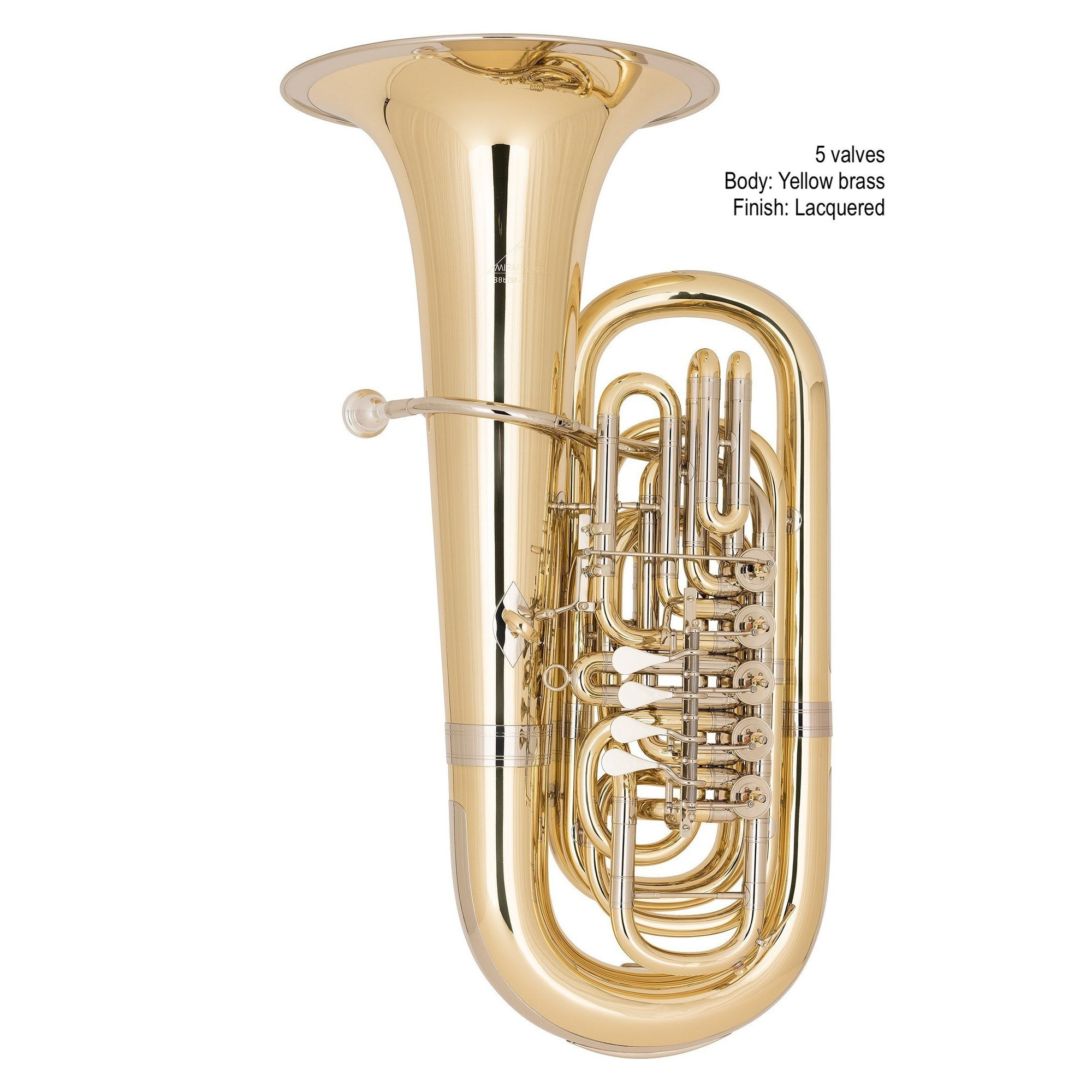 Miraphone - Model 282 BBb Tubas-Tuba-Miraphone-Music Elements