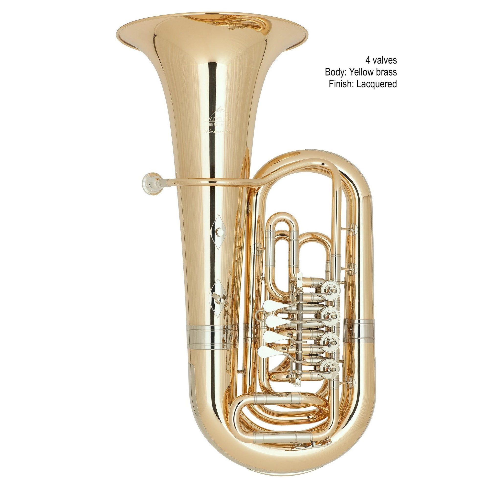 Miraphone - Model 283 Norwegian Star Eb Tubas-Tuba-Miraphone-Music Elements