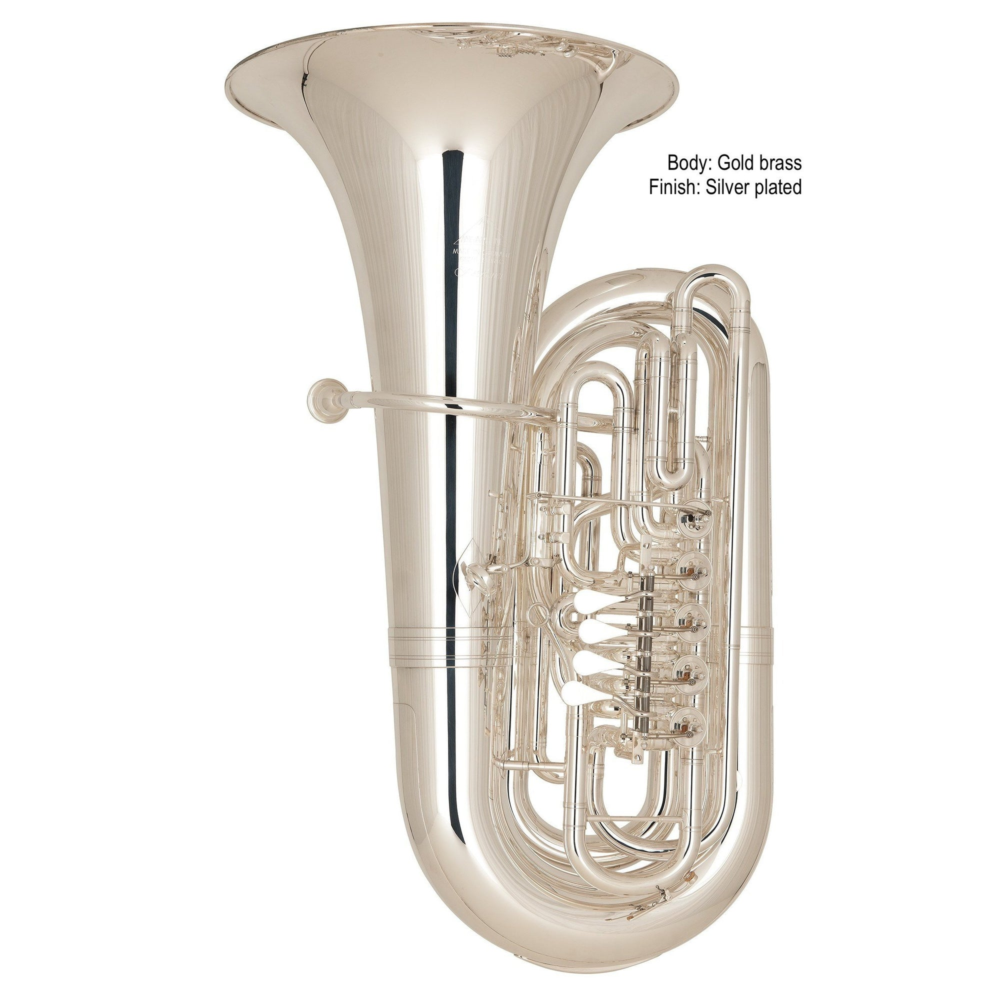 Miraphone - Model 291 Bruckner CC Tubas-Tuba-Miraphone-Music Elements
