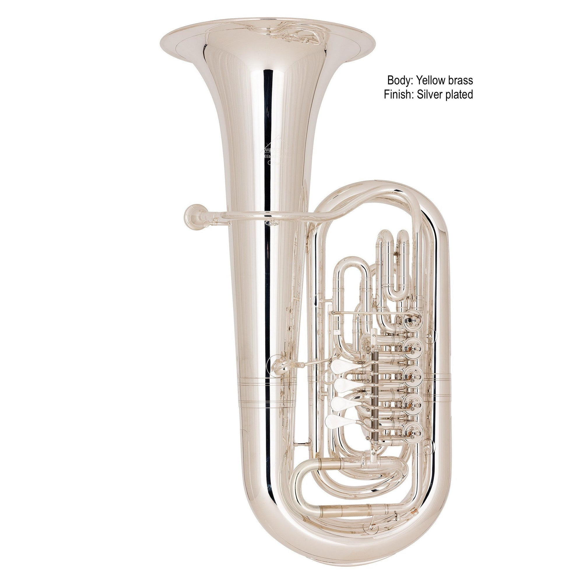 Miraphone - Model 383 Starlight Eb Tubas-Tuba-Miraphone-Music Elements