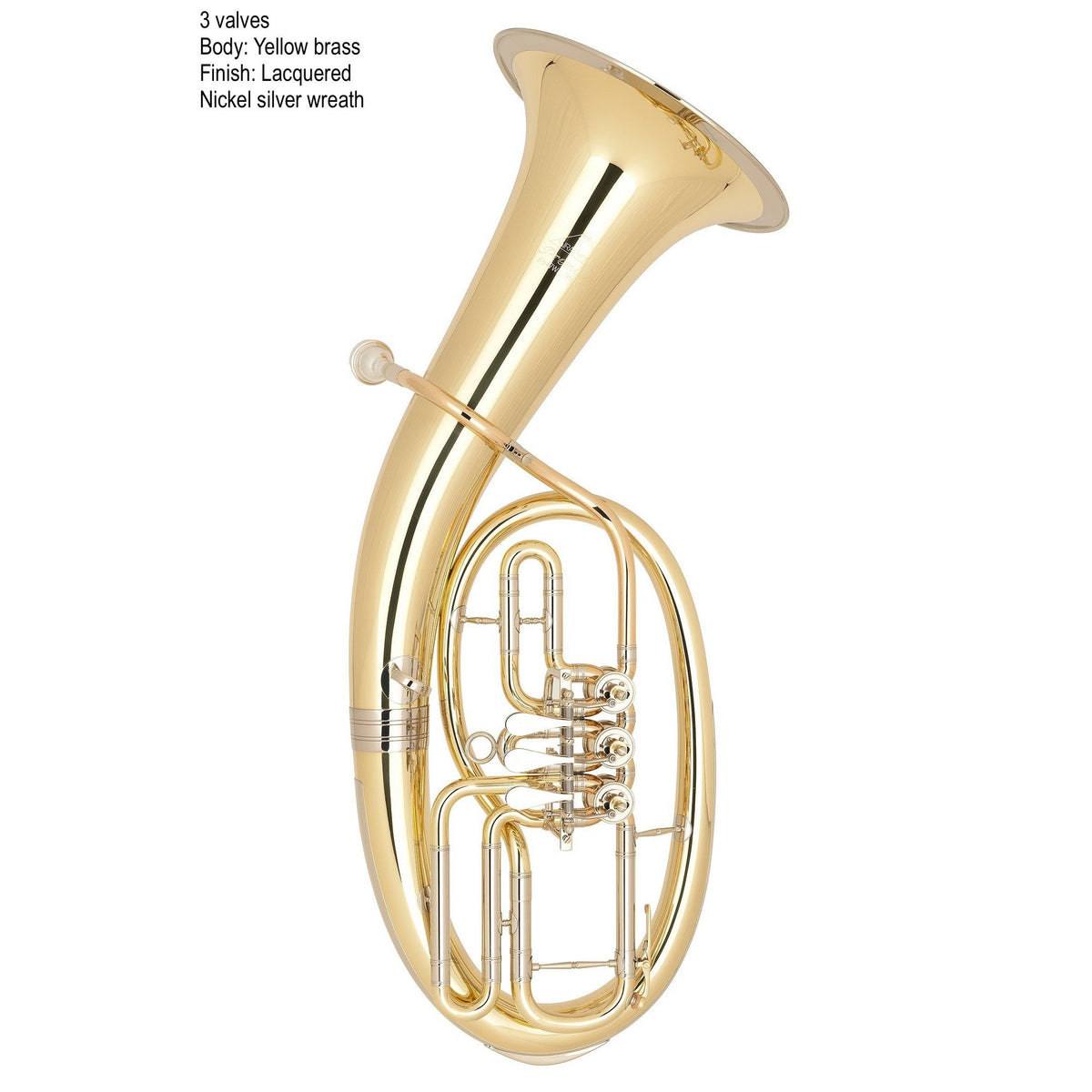 Miraphone - Model 47WL Loimayr Tenor Horns-Tenor Horn-Miraphone-Music Elements
