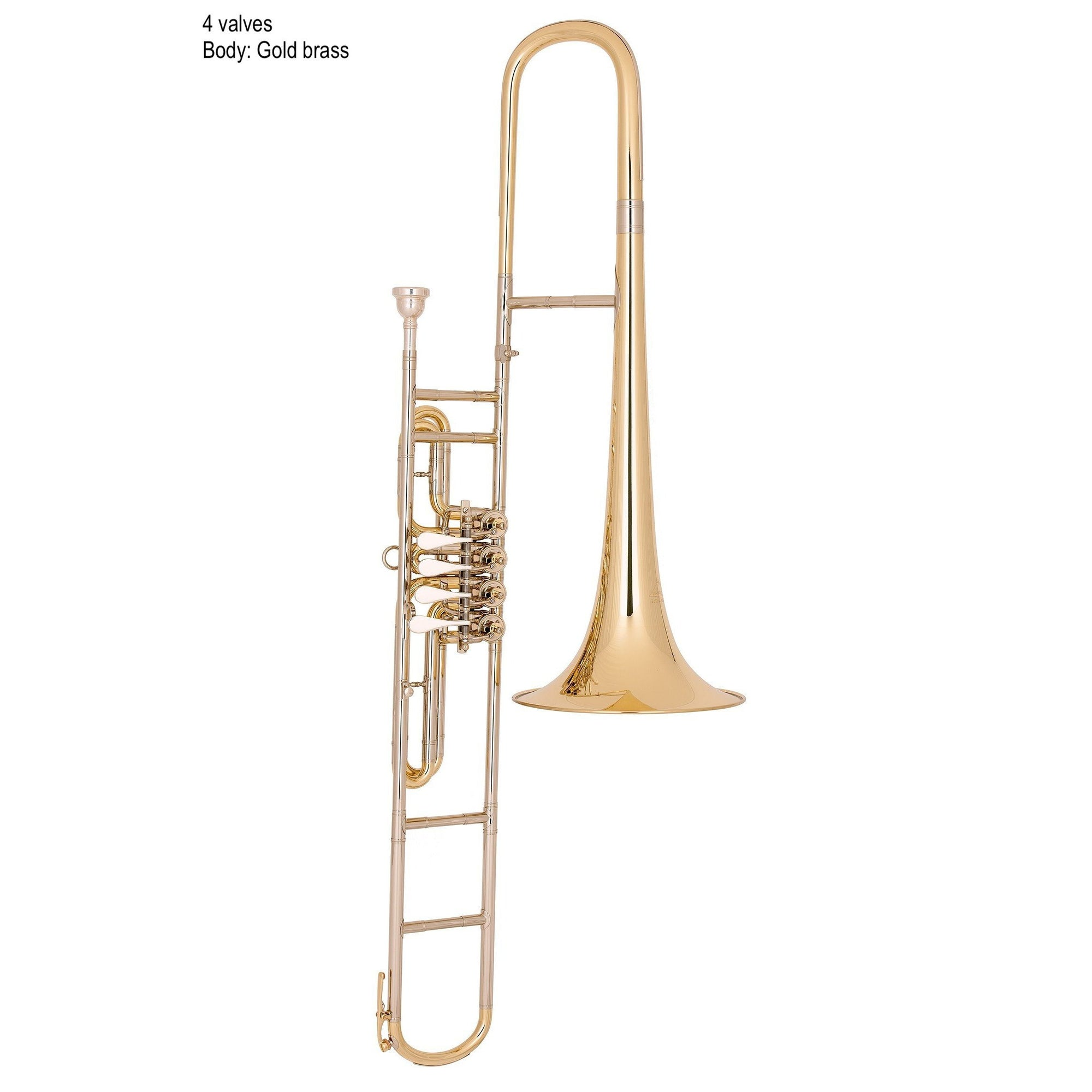 Miraphone - Model 58W Bb Valve Trombones-Trombone-Miraphone-Music Elements