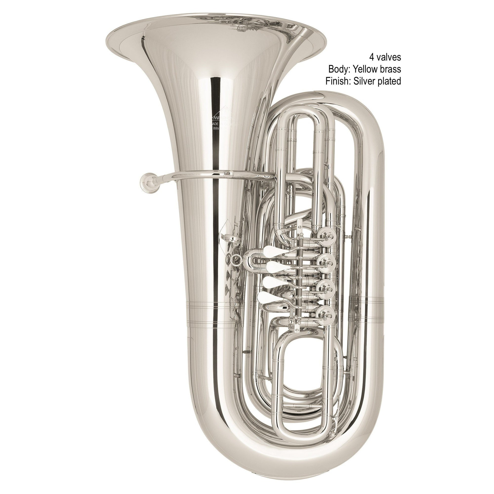 Miraphone - Model 91 BBb Tubas-Tuba-Miraphone-Music Elements