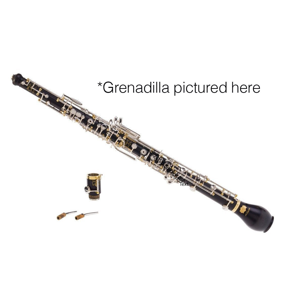 Patricola - Artista 4.0 PT.A2 Full-Automatic Oboe Amore (Rosewood with Silver-Plated Keys)