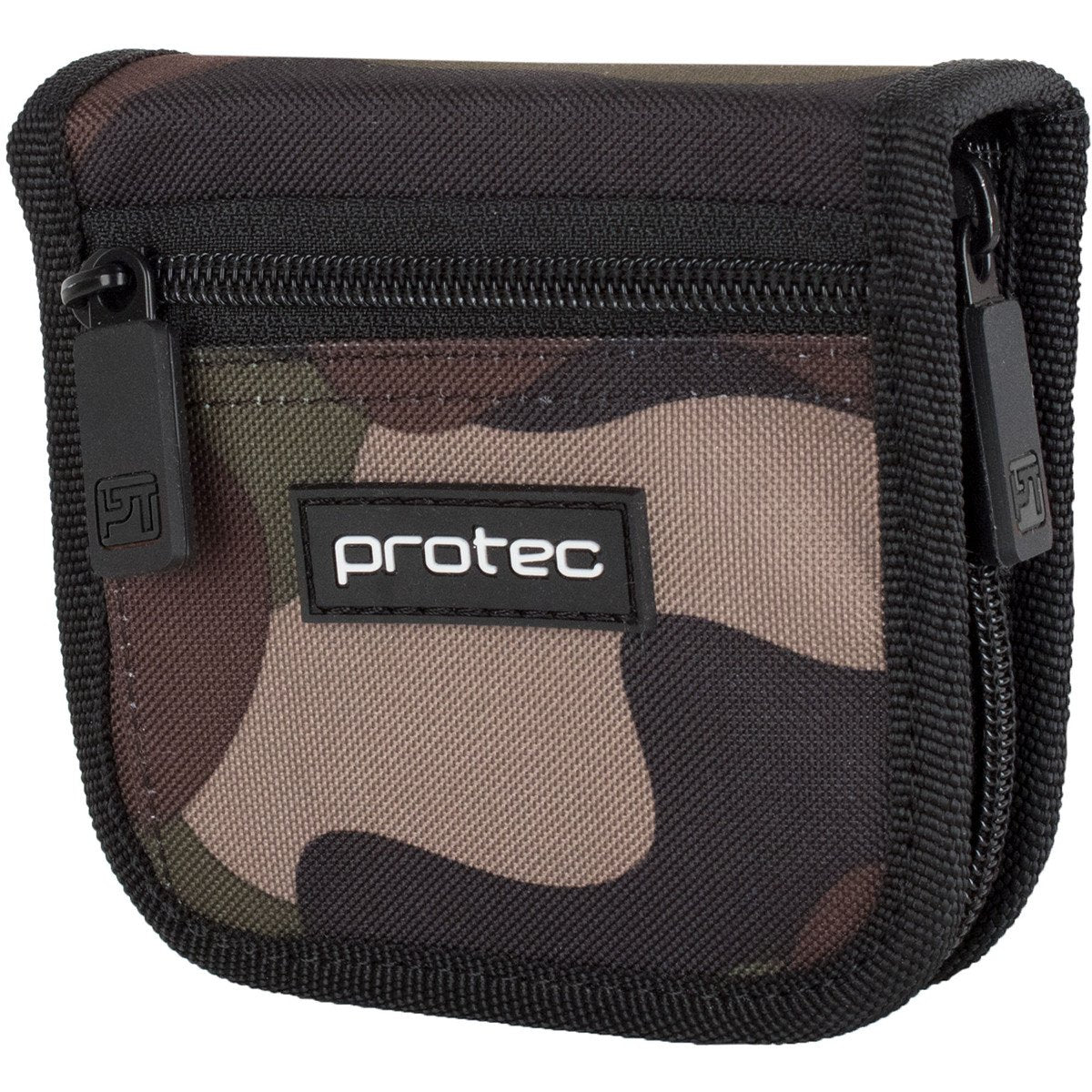 Protec - 2-Piece Tuba Nylon Mouthpiece Pouch with Zipper Closure (Camo)-Accessories-Protec-Music Elements