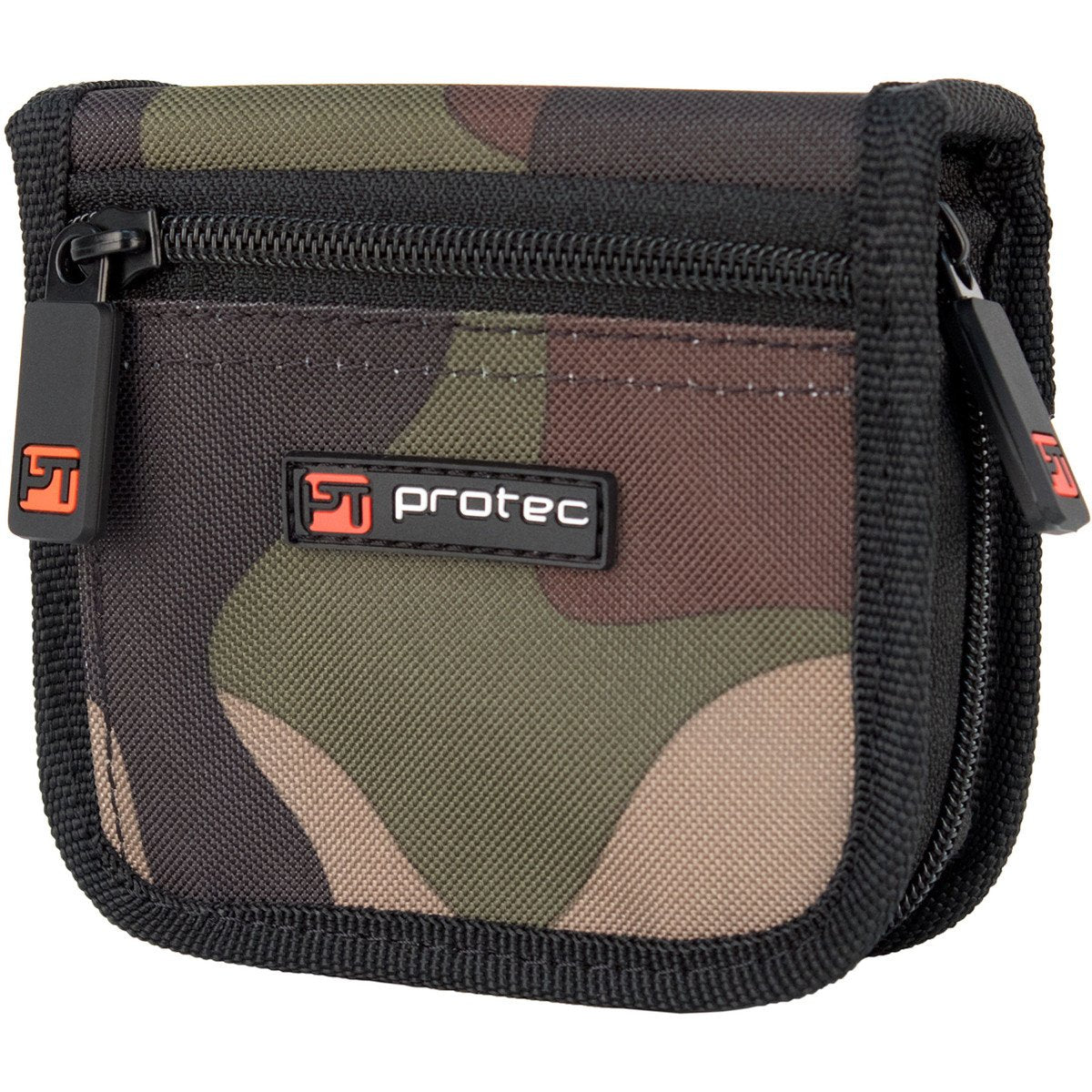 Protec - 2-Piece Trombone Nylon Mouthpiece Pouch with Zipper Closure (Camo)-Accessories-Protec-Music Elements
