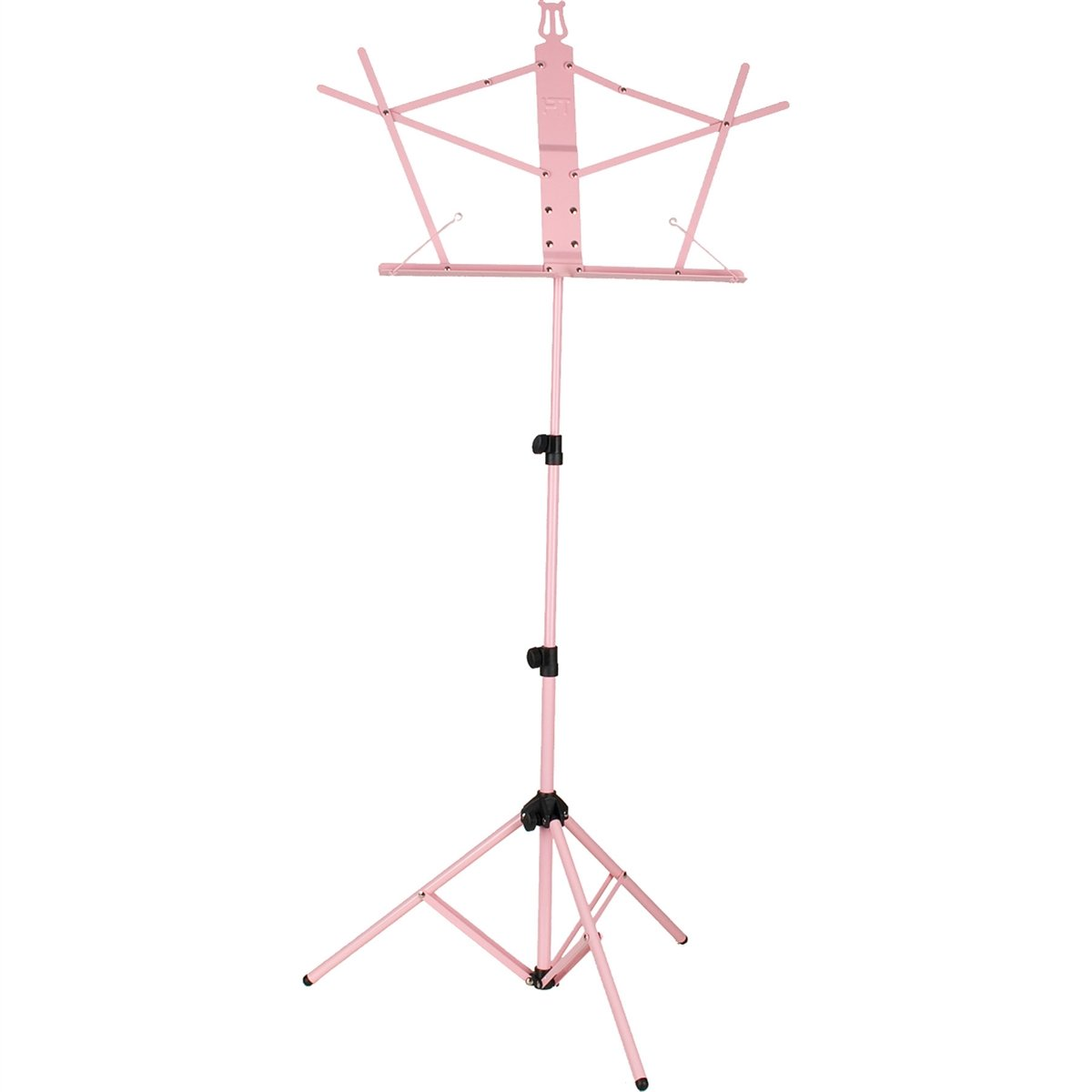 Protec - Aluminum Touring Music Stand Standard Desk with Gig Bag-Accessories-Protec-Pink-Music Elements