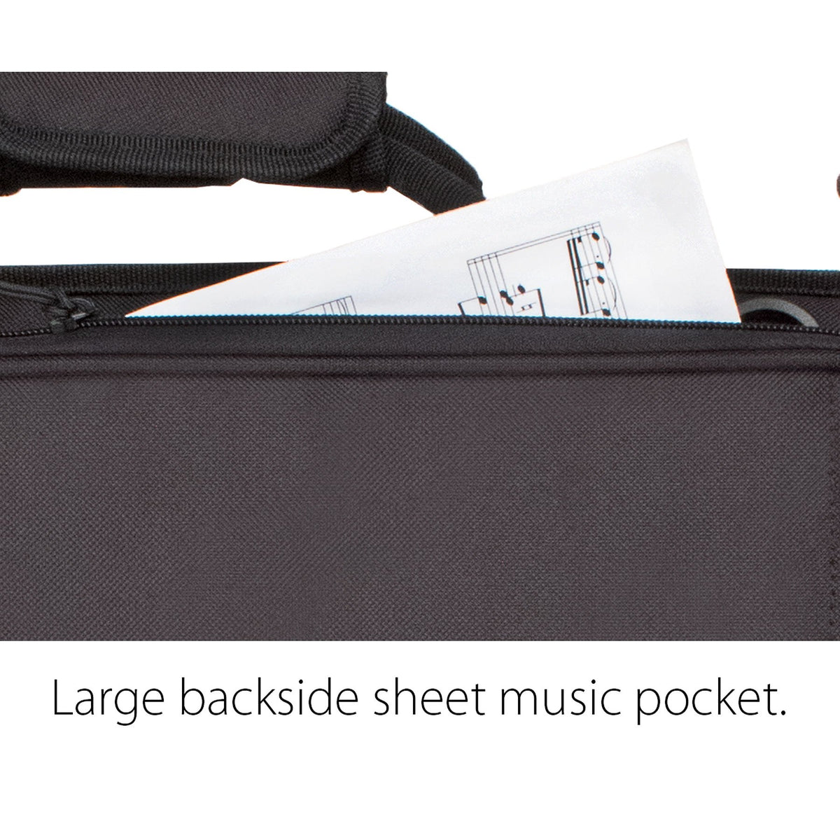 Protec - Flugelhorn Explorer Gig Bag with Sheet Music Pocket-Case-Protec-Music Elements