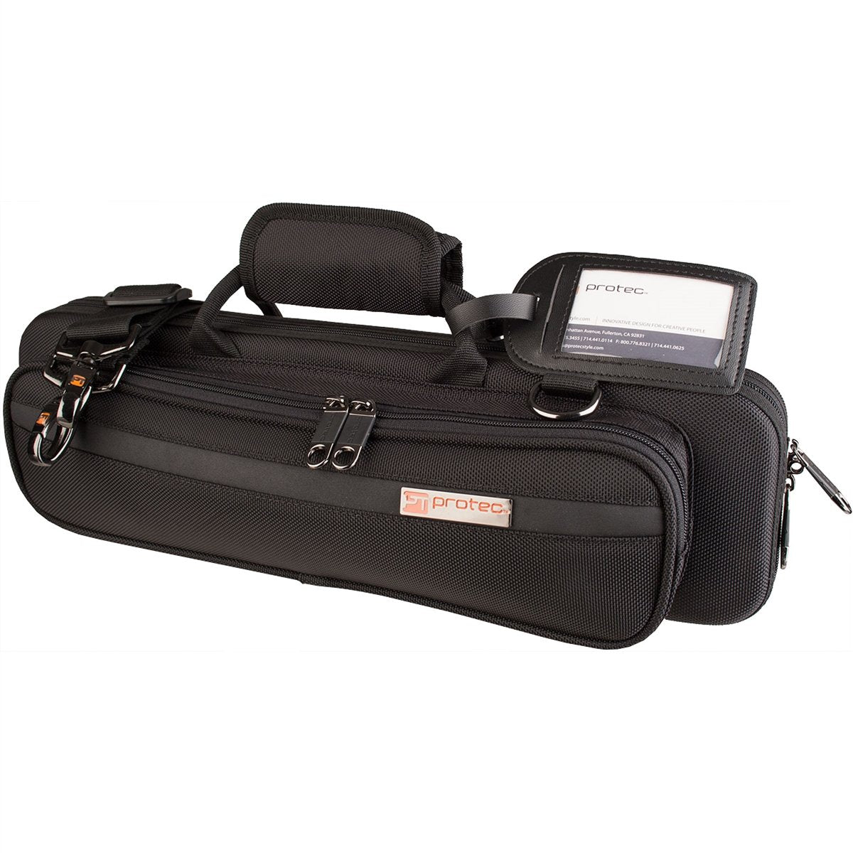 Protec - Flute PRO PAC Case (Slimline)-Accessories-Protec-Black-Music Elements