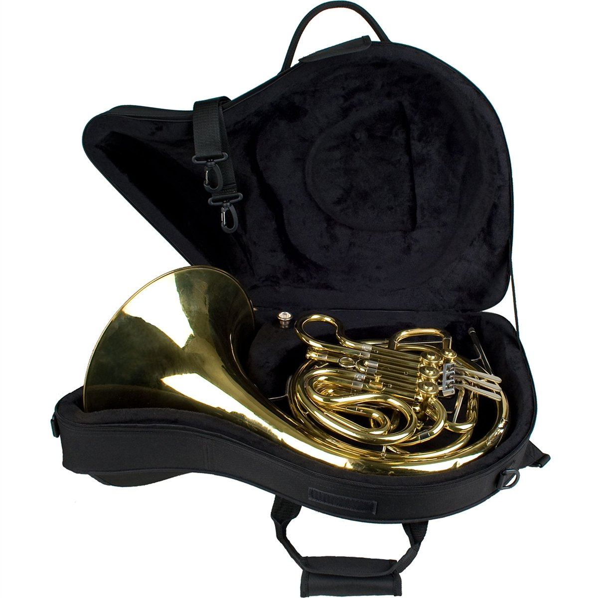 Protec - French Horn Fixed Bell MAX Case (Contoured)-Case-Protec-Music Elements