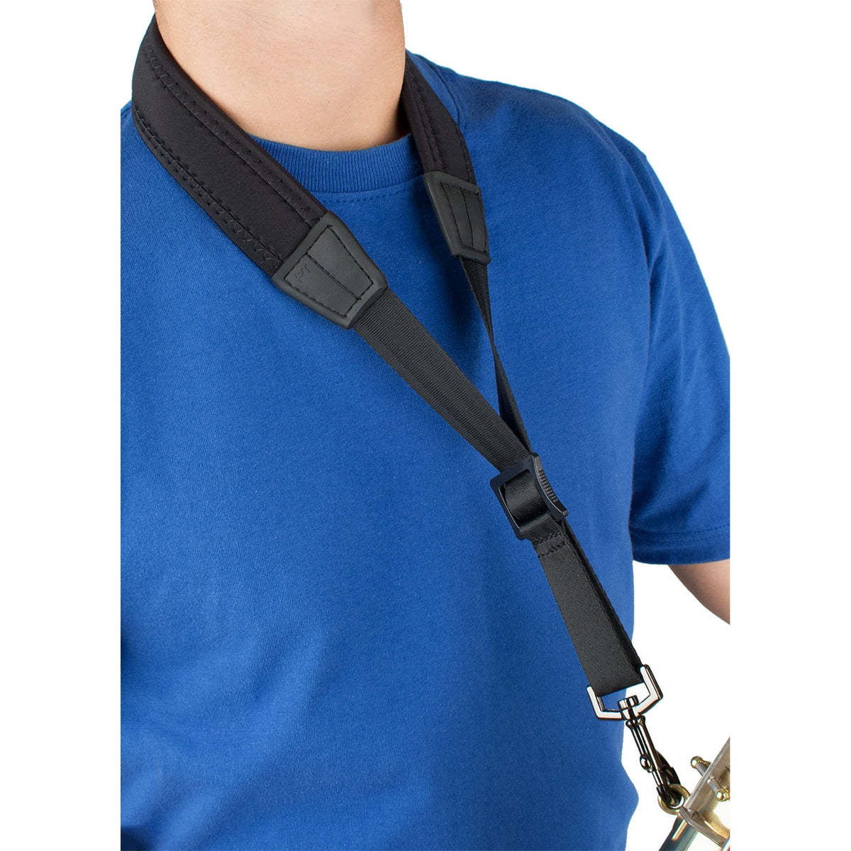 Protec - Neoprene Saxophone Neck Strap with Metal Snap-Accessories-Protec-Music Elements