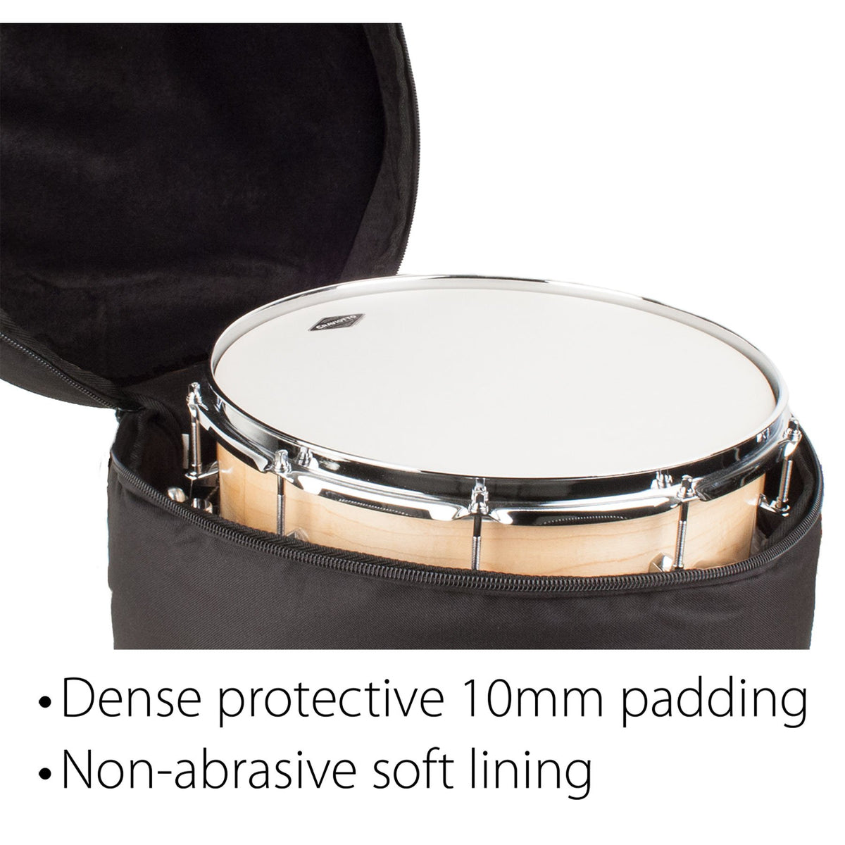 Protec - Padded Kick Drum Bag 18″ X 22″ (Heavy Ready Series)-Percussion-Protec-Music Elements