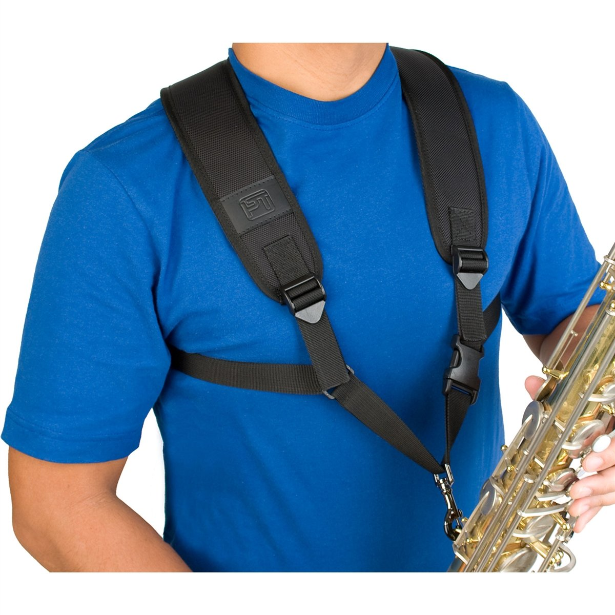Protec - Saxophone Harness with Deluxe Metal Trigger Snap-Accessories-Protec-Music Elements