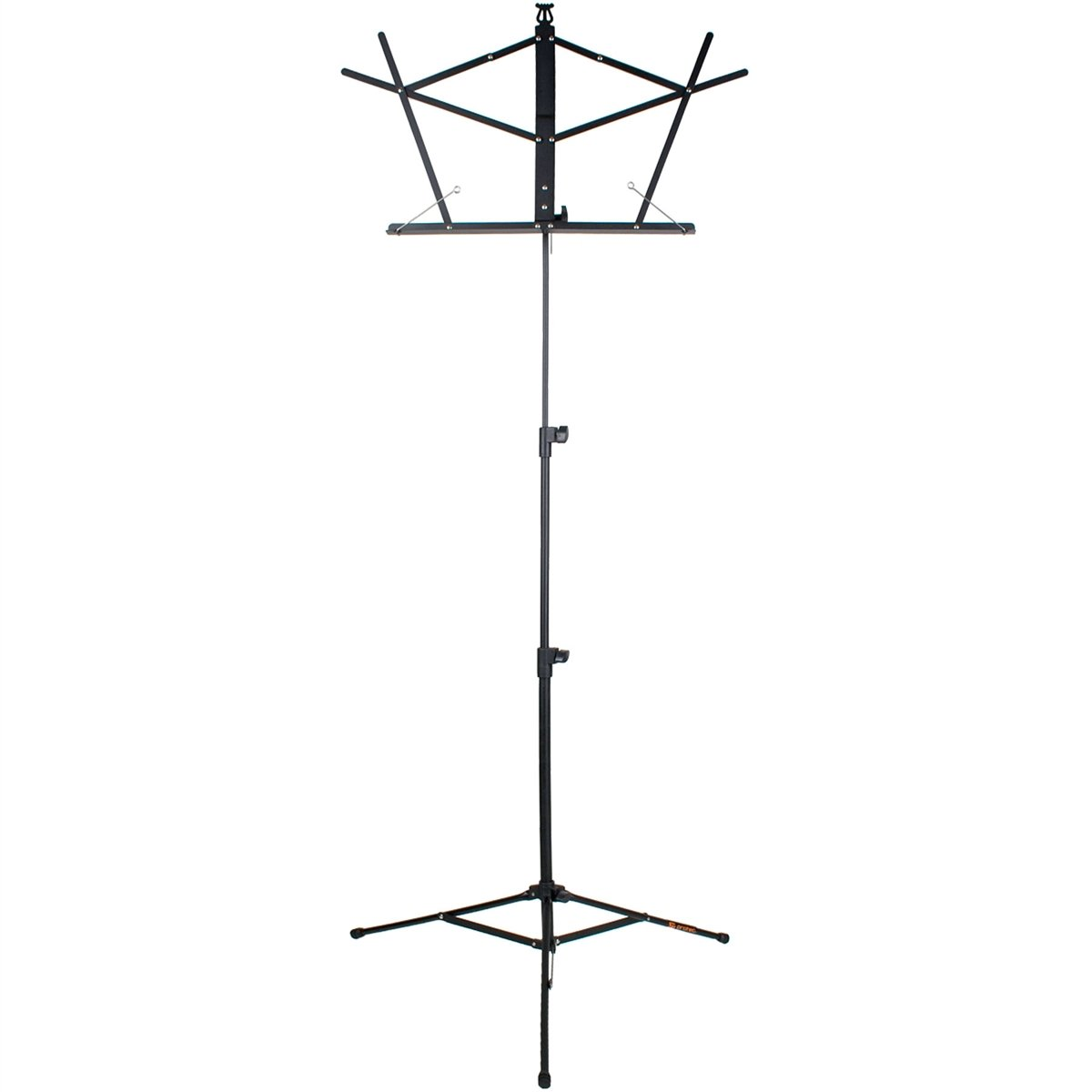 Protec - Steel Value Music Stand with Standard Desk and Carry Bag-Accessories-Protec-Black-Music Elements