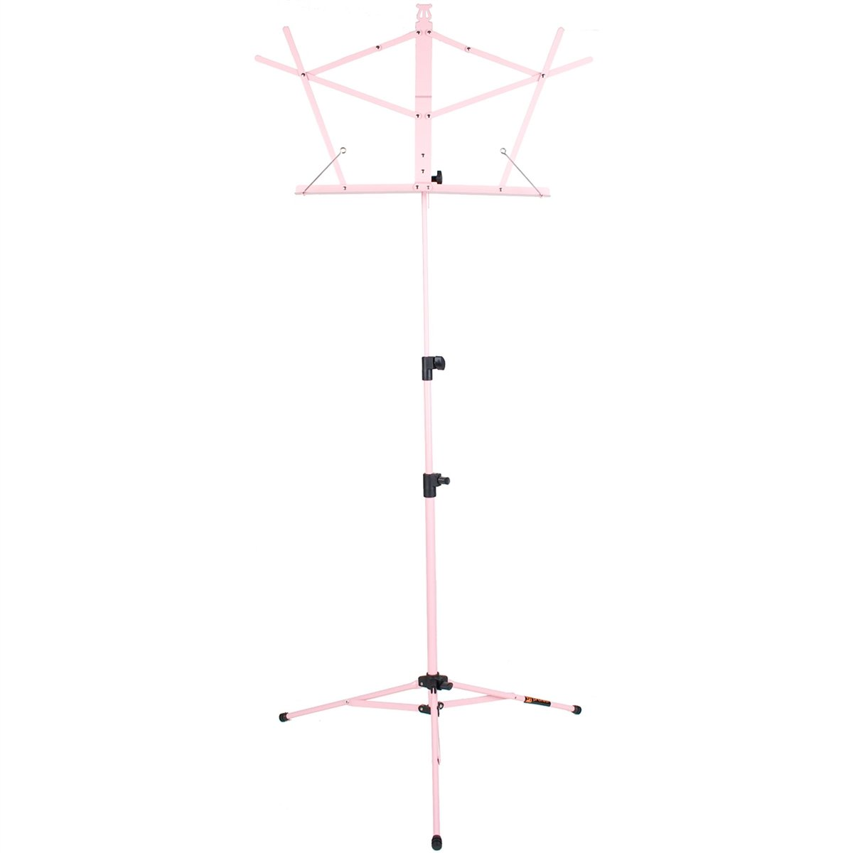 Protec - Steel Value Music Stand with Standard Desk and Carry Bag-Accessories-Protec-Pink-Music Elements