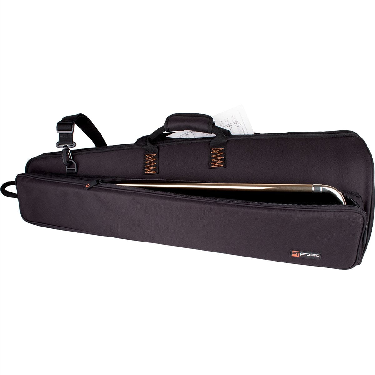 Protec - Tenor Trombone Explorer Gig Bag with Sheet Music Pocket-Case-Protec-Music Elements