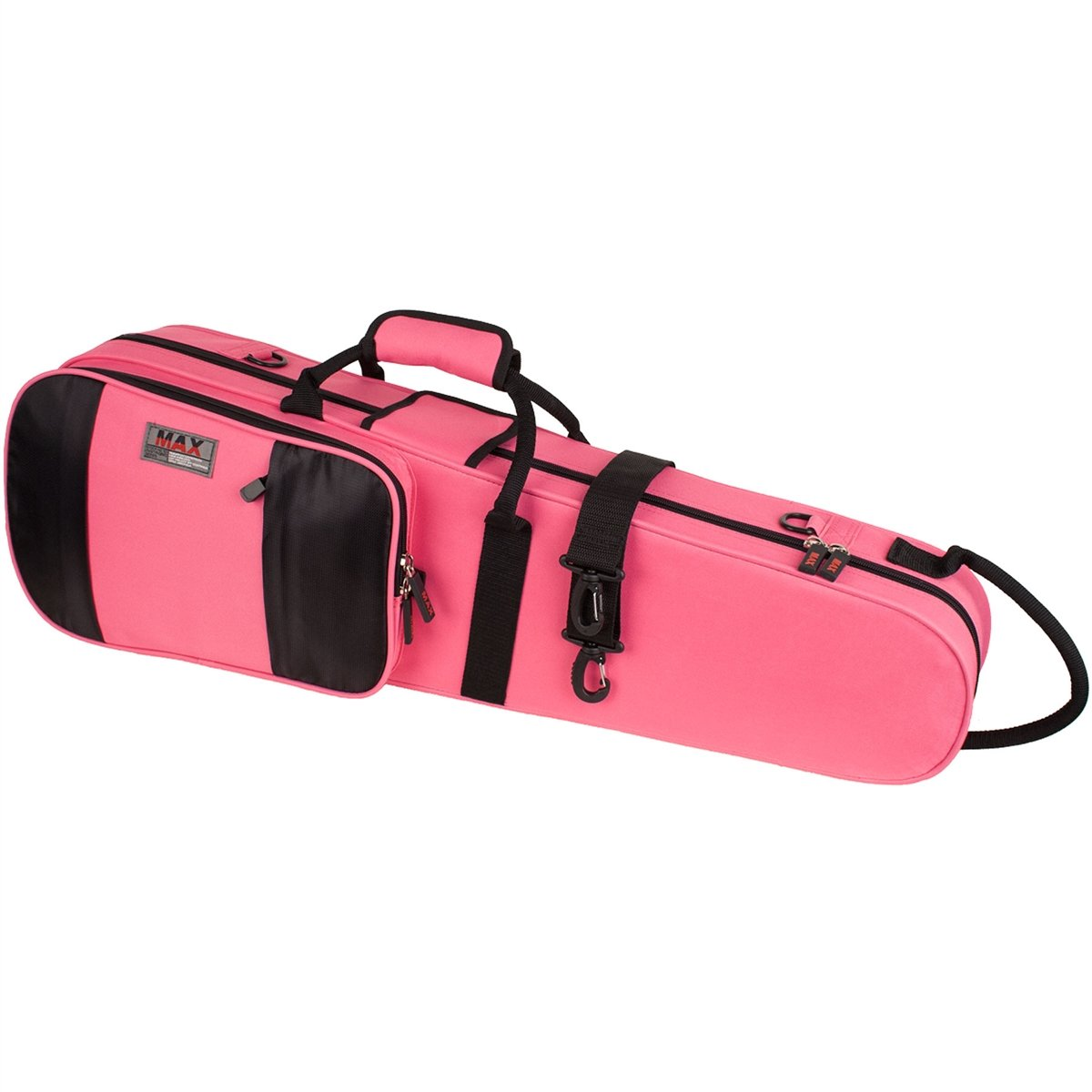 Protec - Violin MAX Case (Shaped)-Accessories-Protec-Fuchsia/Pink-Music Elements