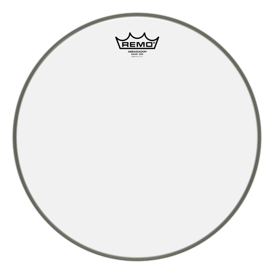 "Remo - Ambassador Clear Snare Side 14"" Drum Head-Percussion-Remo-Music Elements"