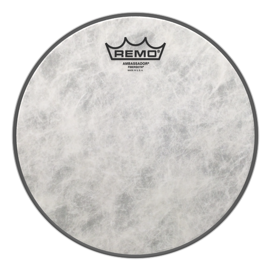 "Remo - Ambassador Fiberskyn Batter Drum Heads-Percussion-Remo-10""-Music Elements"