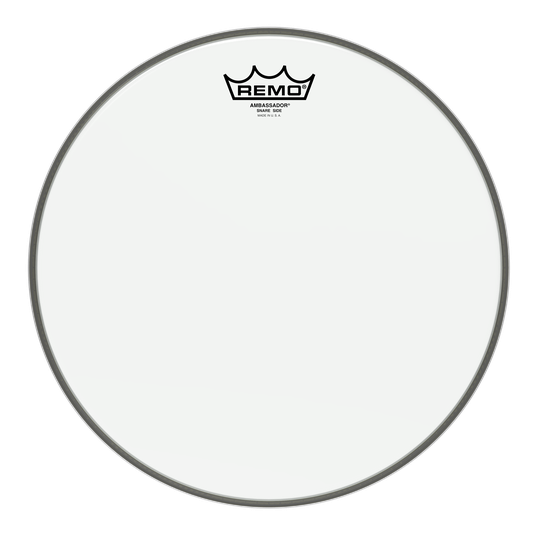 "Remo - Ambassador Hazy Snare Side Drum Heads-Percussion-Remo-13""-Music Elements"