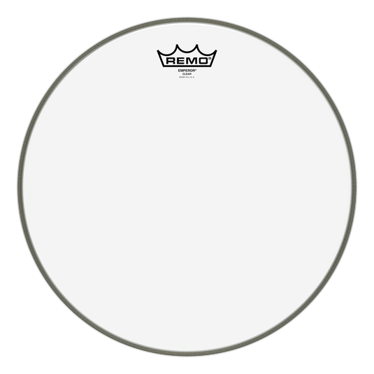 "Remo - Emperor Clear 14"" Drum Head-Percussion-Remo-Music Elements"