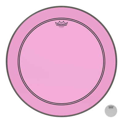 "Remo - Powerstroke P3 Colortone 22"" Clear Bass Drum Heads"