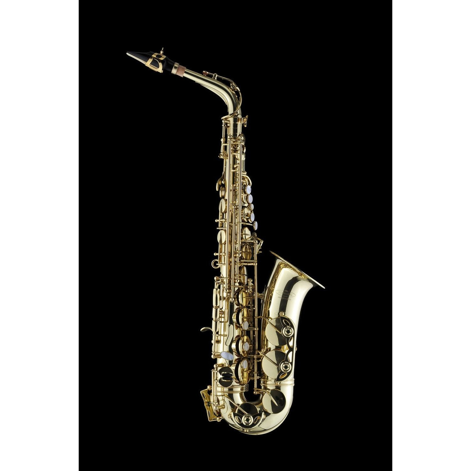 Schagerl - Model 66 Alto Saxophones-Saxophone-Schagerl-Lacquered-With-Music Elements