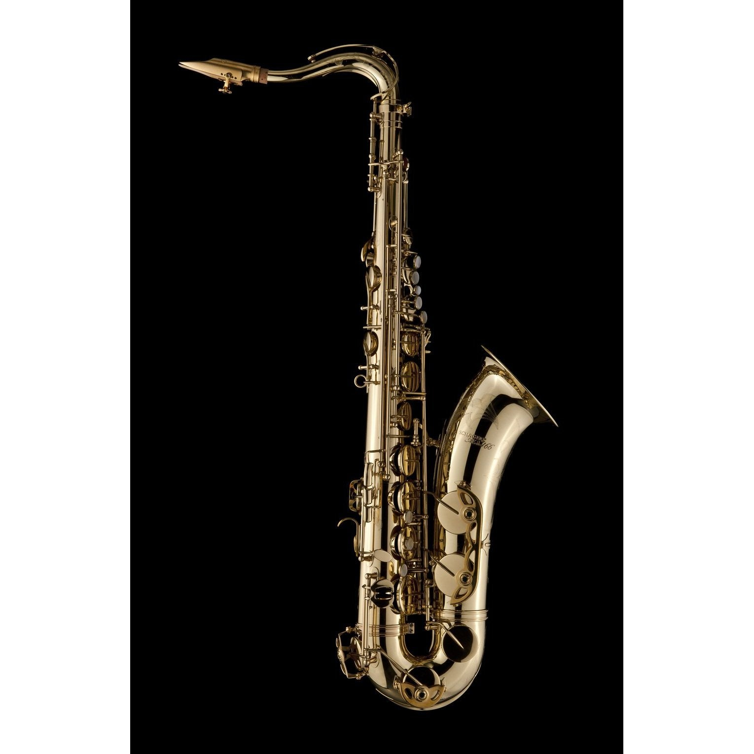 Schagerl - Model 66 Tenor Saxophones-Saxophone-Schagerl-Lacquered-With-Music Elements
