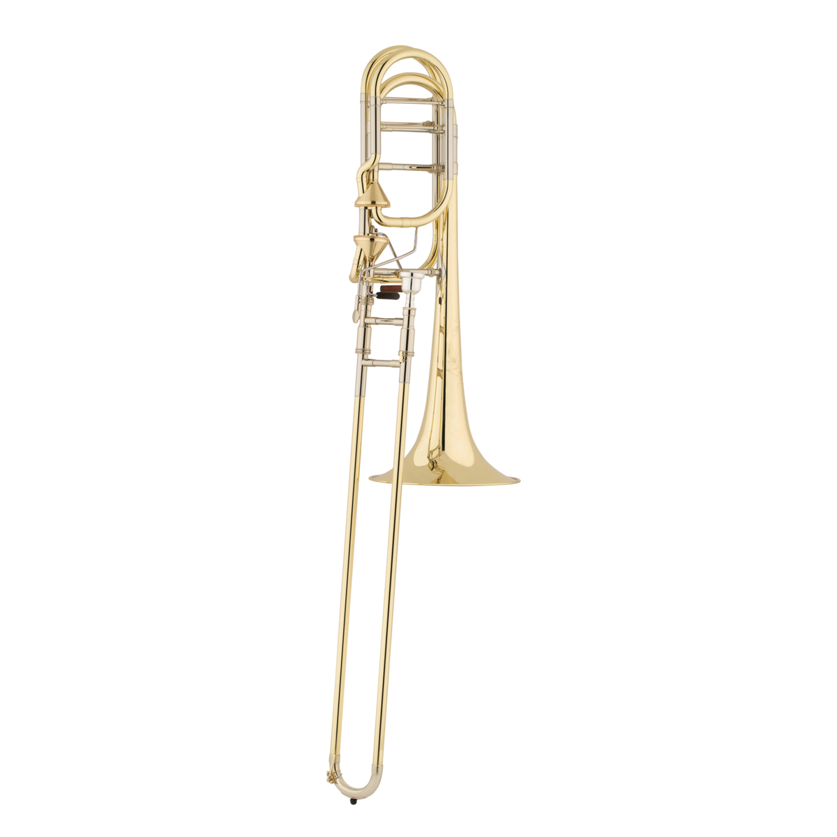 "S.E. Shires - Brian Hecht ""Lone Star"" Artist Model Bass Trombone with Axial Flow F/Gb Attachment-Trombone-S.E. Shires-Music Elements"