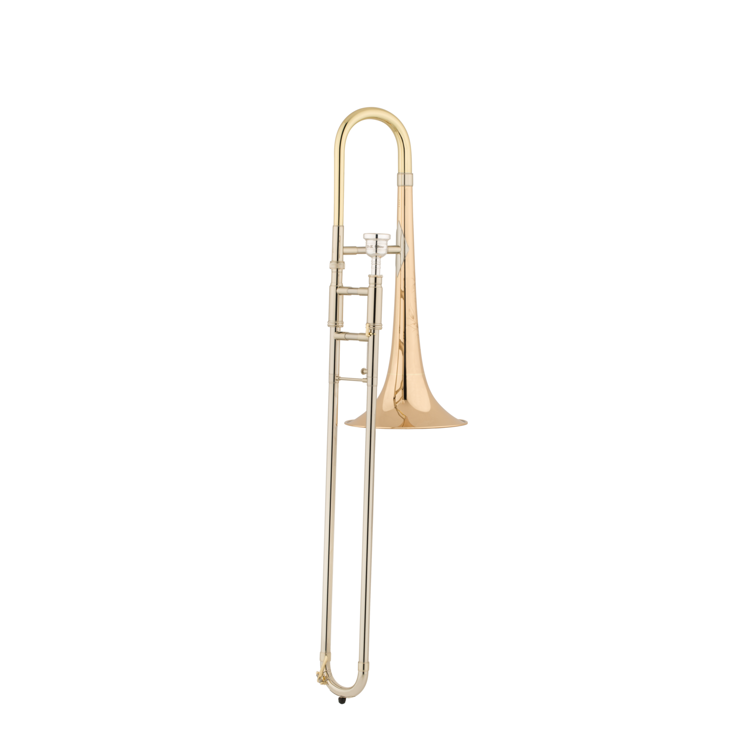 S.E. Shires - Model TBALTGM - Custom Medium Gold Alto Trombone-Trombone-S.E. Shires-Music Elements