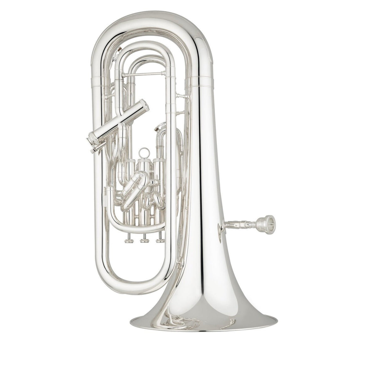 S.E. Shires - Q40S - Q Series Euphonium (Silver Plated)-Euphonium-S.E. Shires-Music Elements