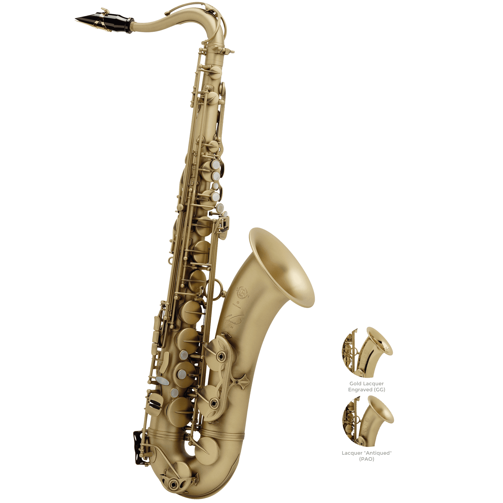 Selmer Paris - Model 36 Reference Tenor Saxophones-Saxophone-Selmer Paris-Music Elements