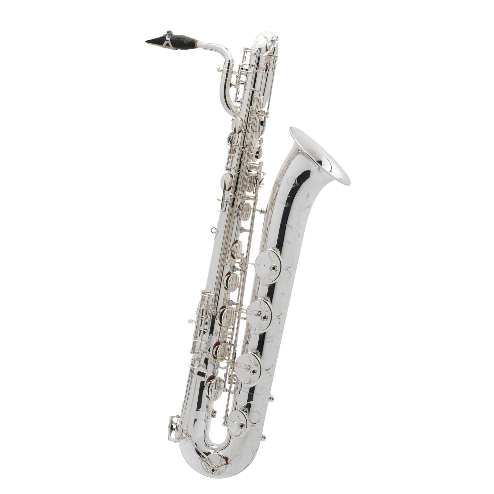 Selmer Paris - Super Action 80 Series II Jubilee Baritone Saxophone (Silver Plated)