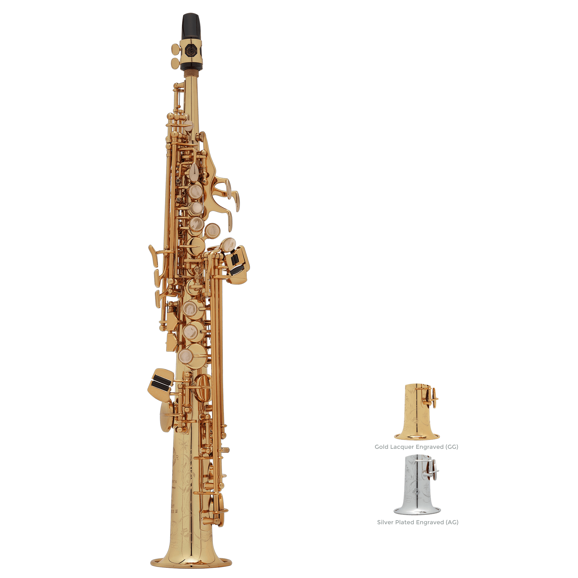 Selmer Paris - Super Action 80 Series II Jubilee Sopranino Saxophones-Saxophone-Selmer Paris-Music Elements