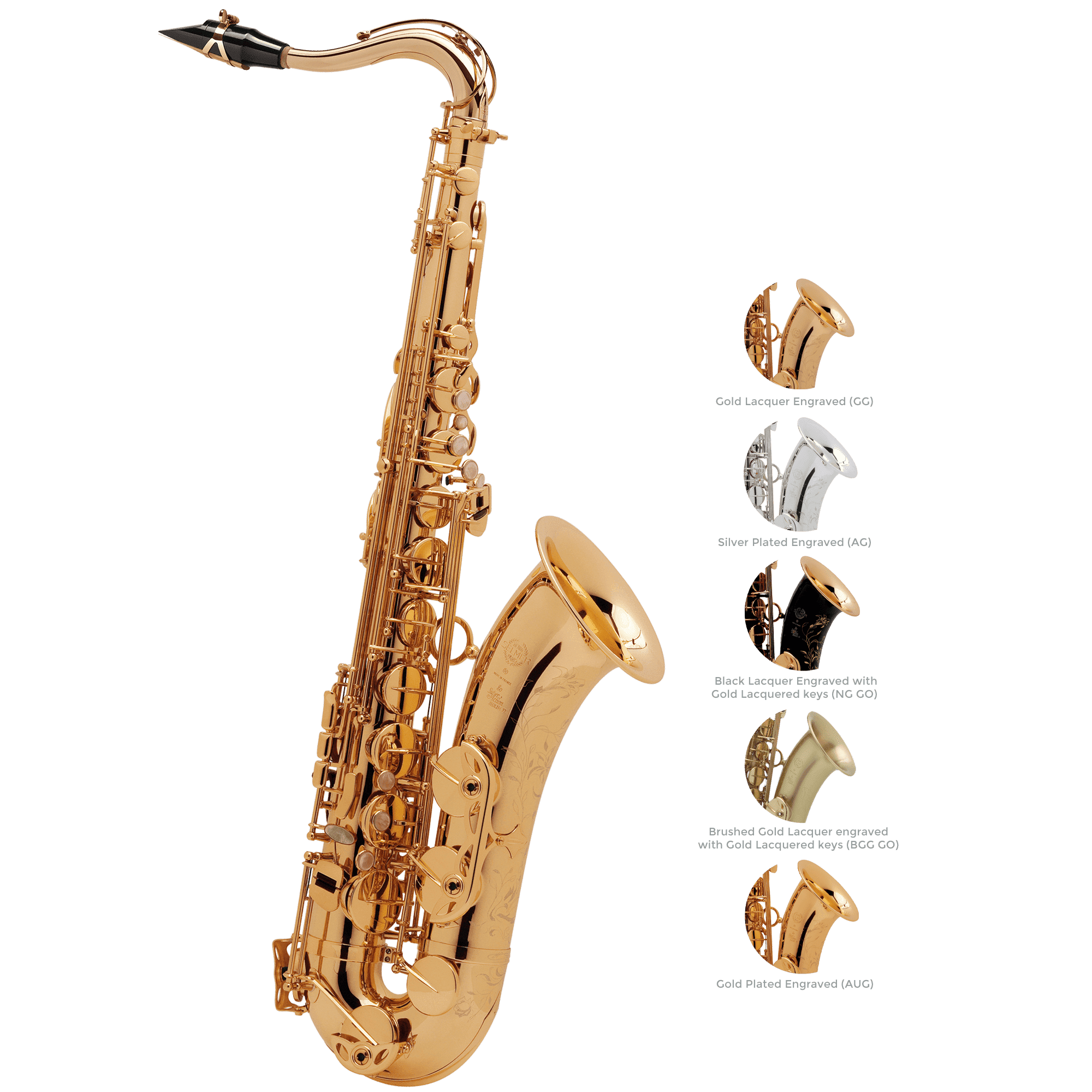 Selmer Paris - Super Series 80 Series II Tenor Saxophones-Saxophone-Selmer Paris-Music Elements