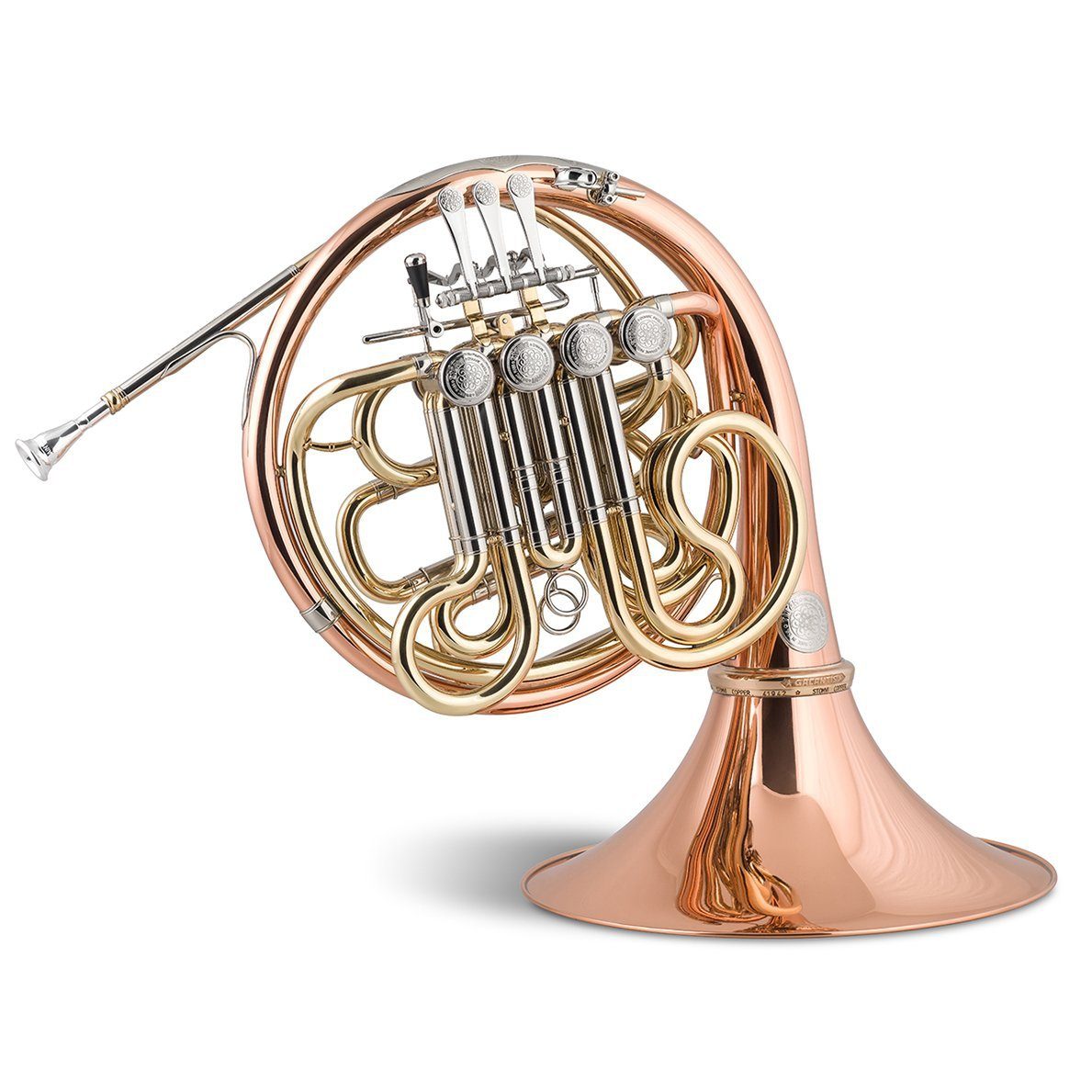 Stomvi - Titán SEIS Bb/F Double Copper French Horns (Geyer System)-French Horn-Stomvi-Music Elements