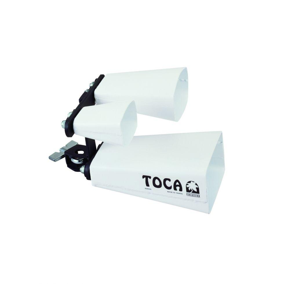 Toca Percussion - Triple Fusion Bells with Mount