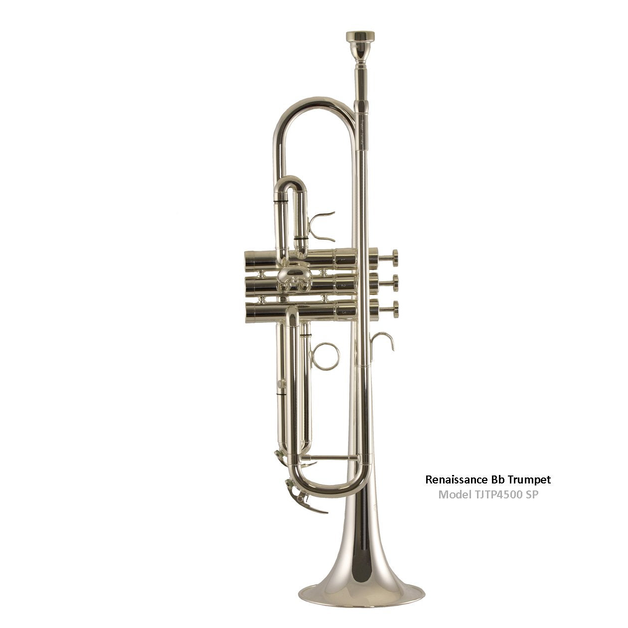 Trevor James - 4500 Renaissance Bb Trumpet-Trumpet-Trevor James-Silver Plated (4500SP)-Music Elements